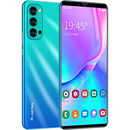 Android Mobile Phones, SIM Free Smartphone with 6.1 Inch Display,Dual SIM, Dual Cameras,Support: Wifi,GPS,Bluetooth Cell Phones (Rino4 Pro-Blue)