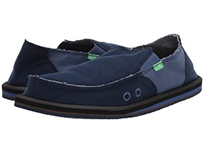 Sanuk Vagabond Hemp (Navy/Indigo) Men