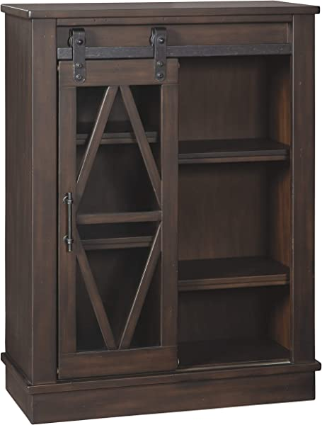 Ashley Furniture Signature Design Bronfield Accent Cabinet Brown