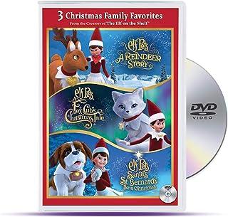 Elf on The Shelf ELF Pets TRI-Pack DVD   Santa's St. Bernard's Save Christmas, A Fox Cub's Christmas Tale, Santa's Reindee...