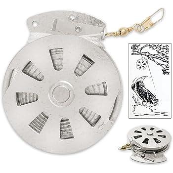 Mechanical Fisher's Yo Yo Fishing Reel - Yoyo Fish Trap - (FLAT TRIGGER MODEL)