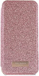 Ted Baker iPhone 7/6/6s Mirror Folio Phone Case, Sparly Rose Gold, Glitsie Rose Gold 41236 from SS17 Collection