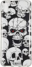 WINCH Xiaomi Redmi 7A Case, Luminous Noctilucent Glow in The Dark Case Matching Design Protective Phone Back Cover TPU Shell Case for Xiaomi Redmi 7A
