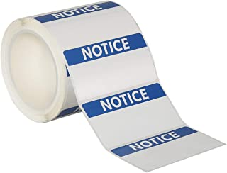 """Avery Notice Header Sign Roll of 350 Labels for Thermal Transfer Printers, 4"""" x 2"""" (61217)"""