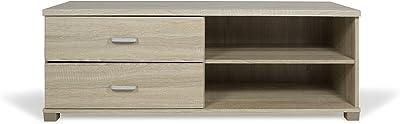 Trendyitalia 13012 Meuble Multi-Usage Chêne, Beige, 120 x 40 x 43,5 cm