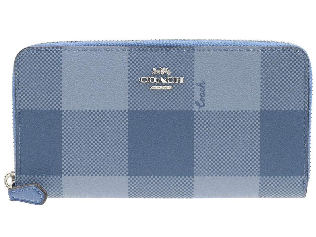 彼らのものファブリックリール[コーチ] COACH 財布 長財布 ラウンドファスナー チェック アウトレット F67933 [並行輸入品]