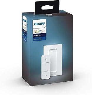 Philips Hue Dimmer Switch - Dim tot 10 Hue Lampen - Overal Eenvoudig te Bevestigen - Verbind met Hue Bridge - Smart Home -...