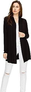 Long Lightweight Wrap Cardigans Sweaters Open Front Regular Plus Size