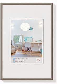 comprar comparacion walther design KV050D New Lifestyle, marco di plástico, 40x50 cm, acero, pack de 1