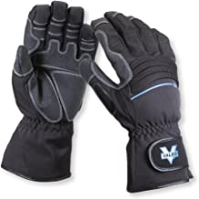 Valeo Work Pro Waterproof Gauntlet Gloves With 3M Thinsulate Insulation, Hipora Waterproof Liner, And Griptech Patches On ...