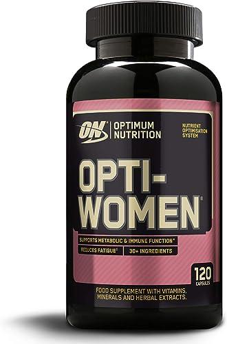 Optimum Nutrition Optiwomen, Comprimés Multivitaminés pour Femme, Complément Alimentaire avec Vitamines et Mineraux E...