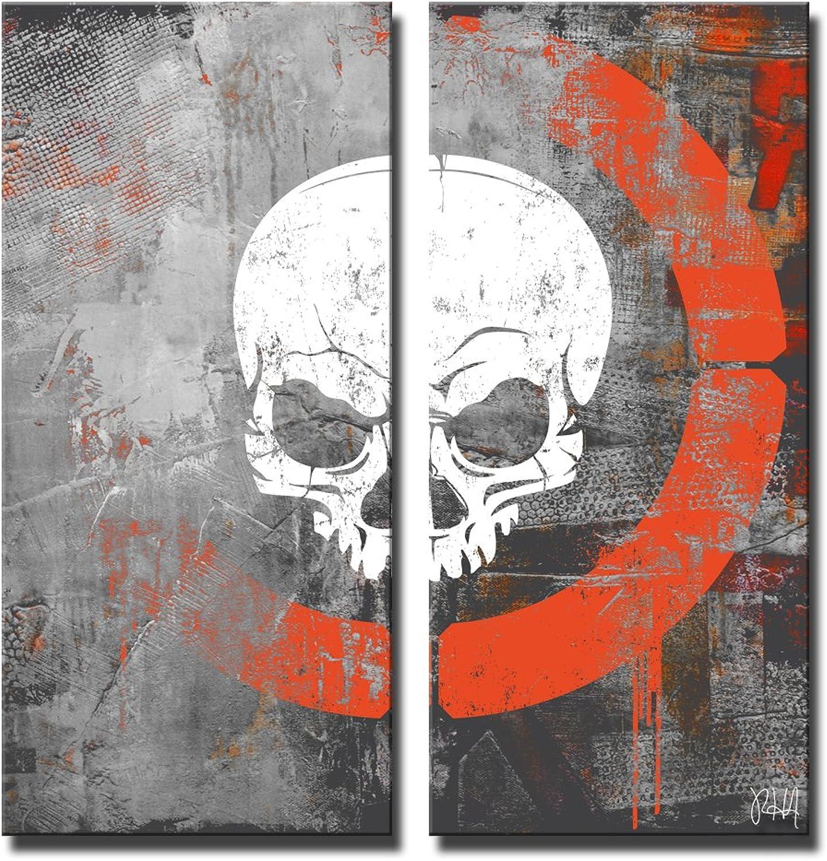 Ready2hangart 'Born2BWild XVI' 2 Piece Canvas Wall Art Set, 24  x 24