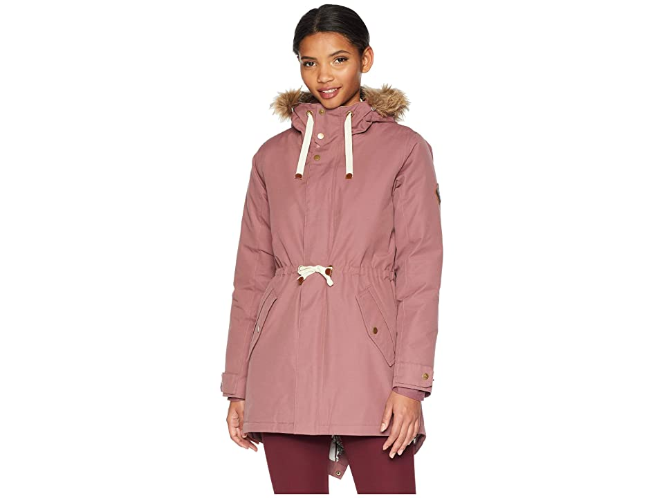 Burton Saxton Parka (Rose Brown) Women