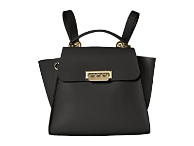 ZAC Zac Posen Eartha Convertible Backpack (Black) Backpack Bags