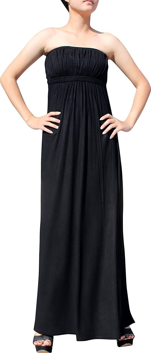 Full Funk Spandex Pia Tai Ok Bunched Front Sleeveless Elegant Casual Dress