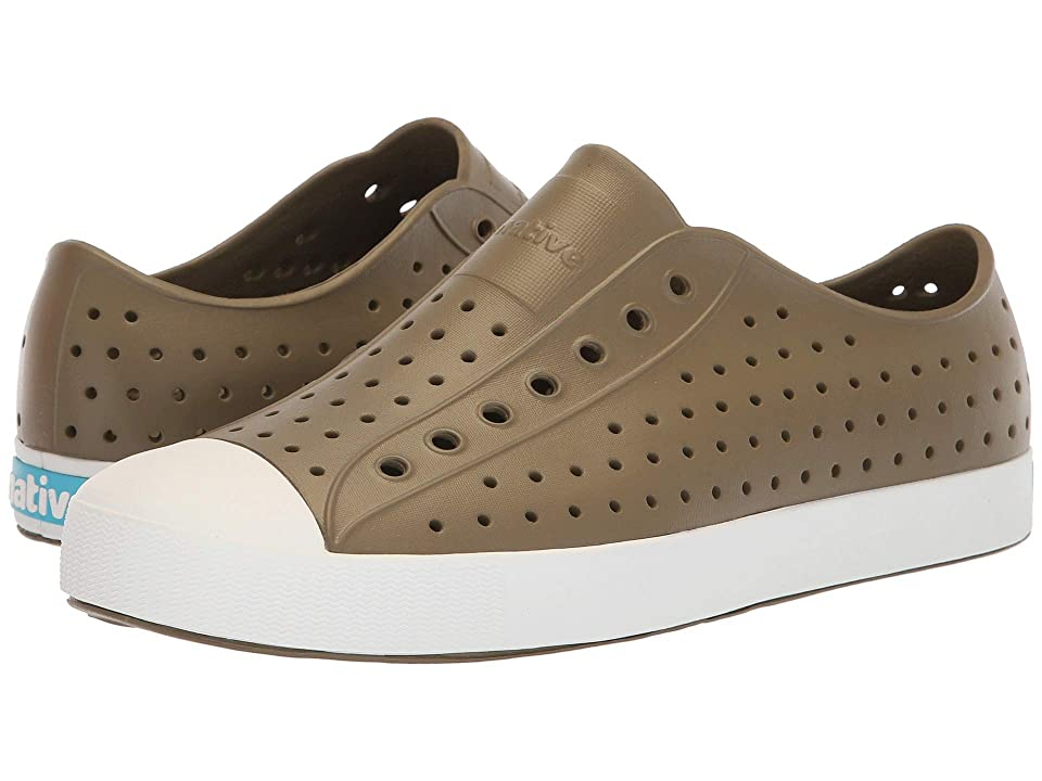 Native Shoes Jefferson (Utili Green/Shell White) Shoes