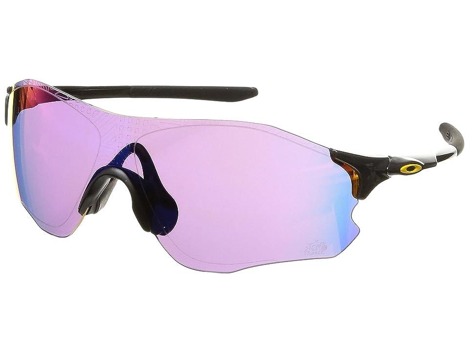 Oakley Evzero Path (TDF Carbon w/ Prizm Road) Fashion Sunglasses