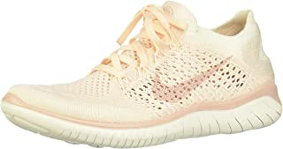 Women's Flex RN 2018 Running Shoe, Ice/Beige Sail/Pink, 7