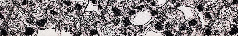 Country Brook sale Design - Phantom Challenge the lowest price of Japan ☆ 1 Skulls Webbing Polyester Inch