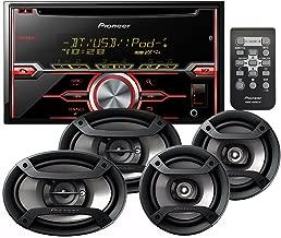 Pioneer FXT-X7269BT Package Includes FH-X720BT CD Receiver CD Bluetooth + Pioneer TS-695P 3-Way 230 WATT Speaker Set+ Pioneer TS-165P 2-Way 200 WATT Speaker Set