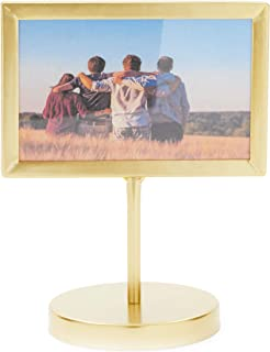Juvale Gold Metal Picture Frame for 4 x 6 Inch Photos (6 x 7.75 Inches)