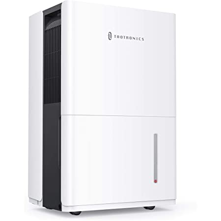 TaoTronics Dehumidifier with Pump 50 Pint for 4500 Sq. Ft, Energy Star Dehumidifier for Basement with 6L Water Tank, Intelligent Humidity Control, Continuous Drainage for Living Room/Closet