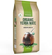 Organic Yerba Mate Loose Leaf Tea - Traditional South American Green Tea Drink - Provides Energy Boost and Aids Digestion - Packed with Antioxidants