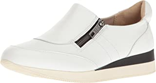 Naturalizer Women's Soft and Casual Zip Shoe Jetty, White, 6.5