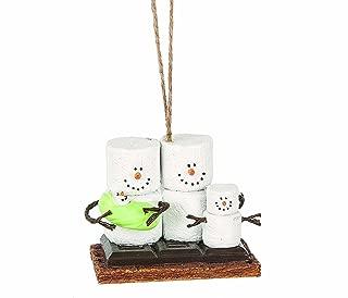 S'mores Original Family of Smores Snowman Ornament