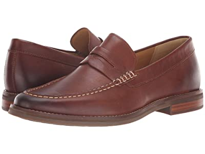 Sperry Gold Cup Exeter Penny Loafer (Tan Leather) Men
