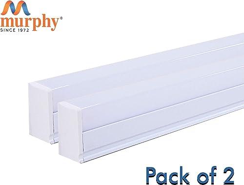 Murphy LED Tube Light 1 Feet 6W - Cool White Batten Pack of 2