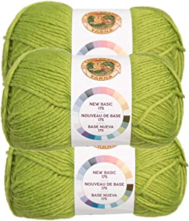 green mohair yarn
