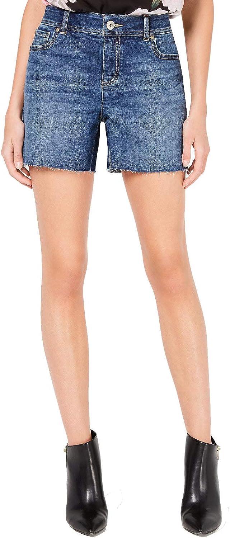INC International Concepts Womens Curvy Casual Jean Shorts