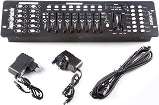Consola Dmx, 192CH Consola Dmx512, Uso del panel del controlador para editar el programa de funcionamiento de iluminación de escenario