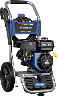 Westinghouse Outdoor Power Equipment WPX3200 Gas Powered Pressure Washer, CARB Compliant, 3200...