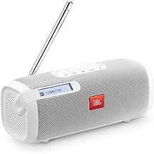 Caixa Bluetooth com rádio FM - Branco- JBLTUNERFMWHTBR