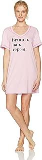 Amazon Brand - Mae Women's Sleepwear Graphic Sleep Shirt