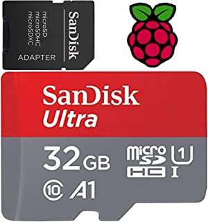 STEADYGAMER - 32GB Raspberry Pi Preloaded (NOOBS) SD Card | 3B+ (Plus), 3B, 2, Zero Compatible with All Pi Models