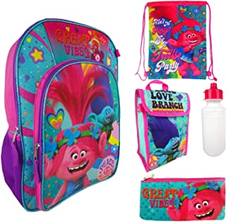 Trolls 5pc Backpack Great Vibes
