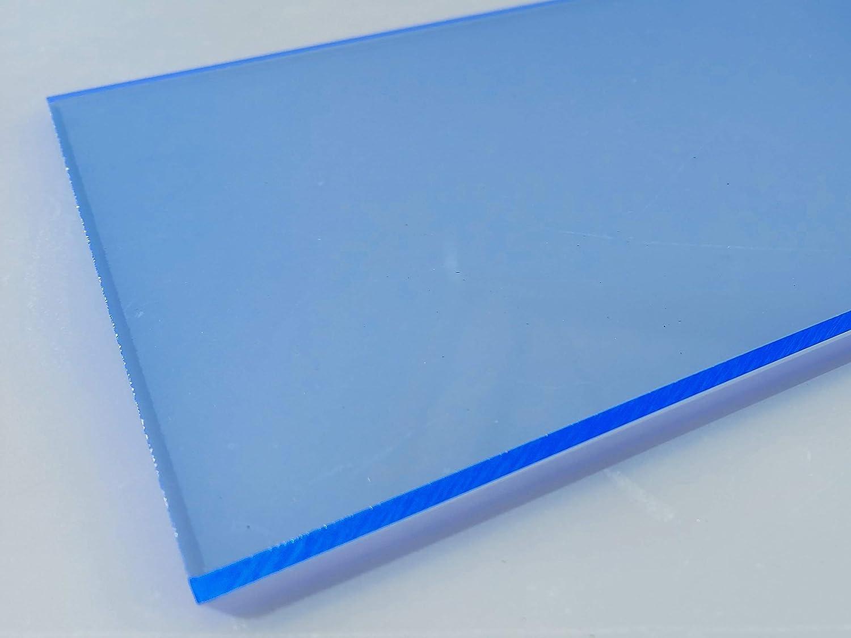 300mm x 600mm x 3mm, rot fluoreszierend in-outdoorshop Plexiglas/® Zuschnitt Acrylglas Platte fluoreszierend