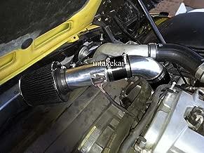 Performance Air Intake Kit System for 07 08 09 Pontiac Solstice GXP 2.0L l4 Turbocharged Engine / 2007 2008 2009 Saturn Sky (Red Line) 2.0L l4 Turbocharged Engine (Black)