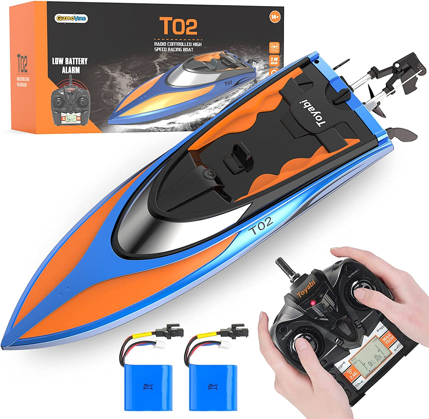 GizmoVine RC Boat Super Special SALE held High Speed 20MPH+ Fresno Mall Boats Control for P Remote