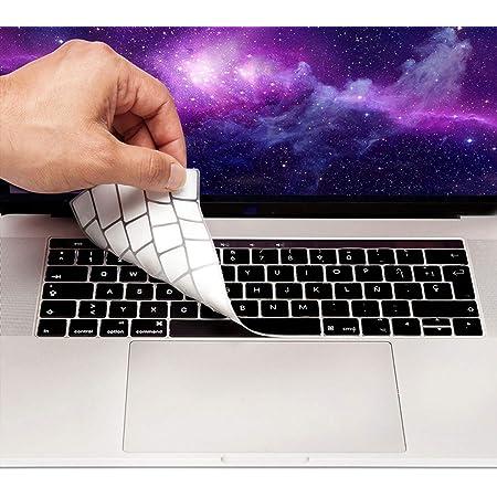 MyGadget Funda Teclado QWERTY [Español] para Apple MacBook 13