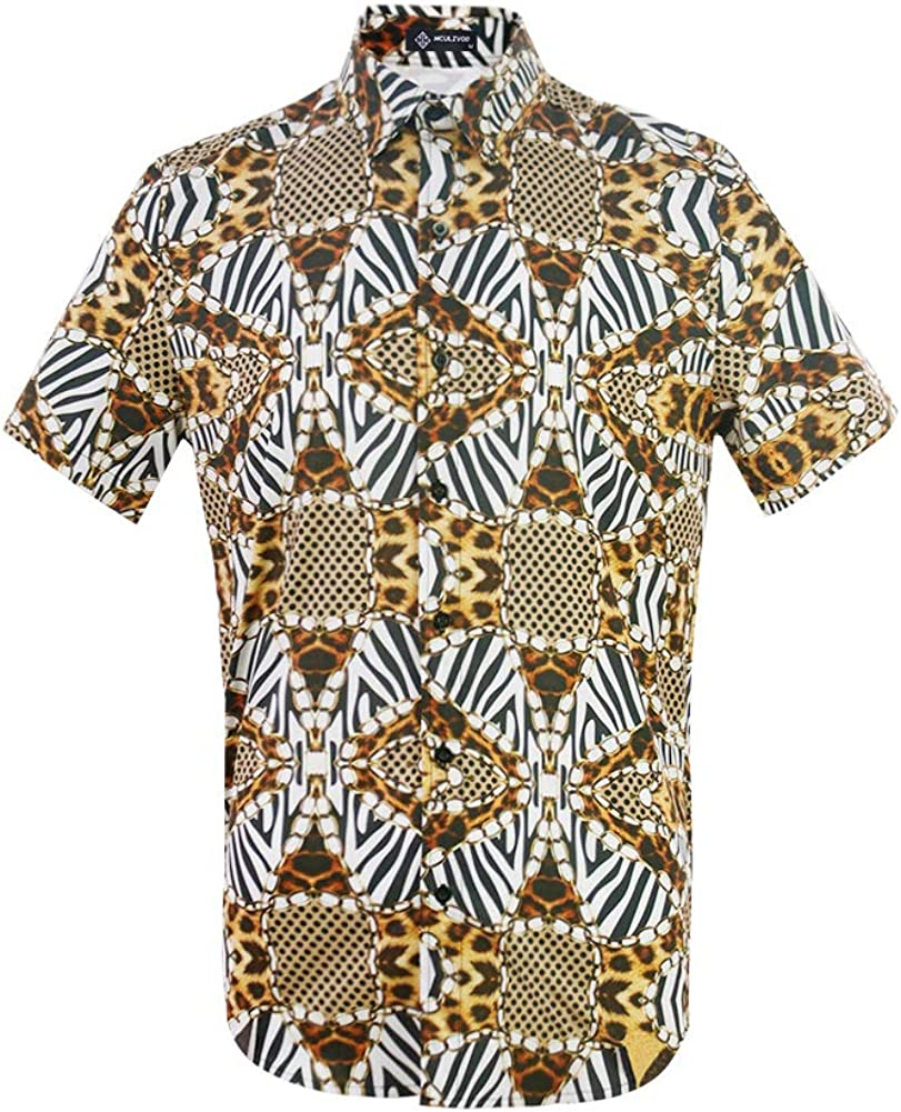 MCULIVOD Houston Mall Men's Camouflage Fashion Popular products Casual Down Button Shirt Short