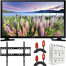 "$319 » SAMSUNG UN40N5200 40"" LED Smart FDHTV 1080P (Renewed) Bundle with Slim Flat Wall Mount Kit + 2X 6FT Universal 4K HDMI 2.0 ..."