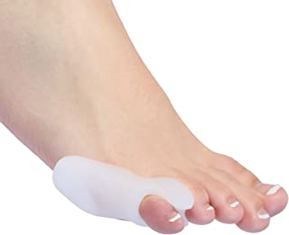 Bunionette Corrector Splint - Pack of 2 Small Pinkie Toe Tailors Bunion Pain Relief Pads With Premium Gel Cushions with Toe Separator Premium Foot Orthotics Help and Protective Toe Straightener Sleeve
