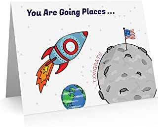 Congratulations Cards. (8 Cards and Blank Envelopes) Promotions, Congratulations Cards. New Job Greeting Cards
