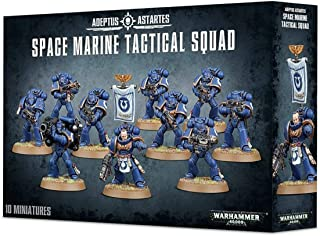 Games Workshop Warhammer 40,000 (40K) Space Marine Tactical Squad 2013 Release
