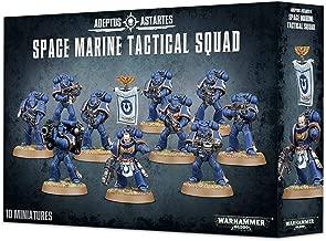 Games Workshop Warhammer 40,000 (40K) Space Marine Tactical Squad 2013 Release