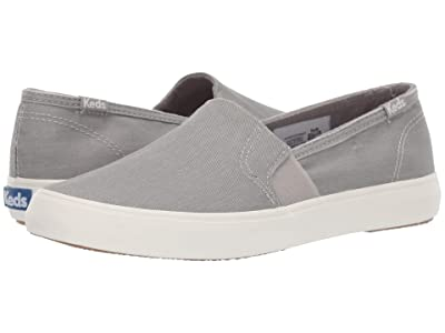 Keds Clipper Wash Twill (Gray) Women